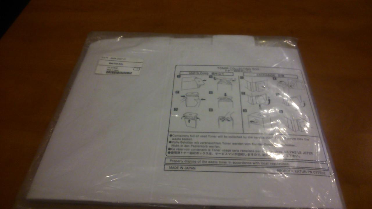 Ёмкость для отработанного тонера Minolta EP3050/4000/4050/5000  (444202701)