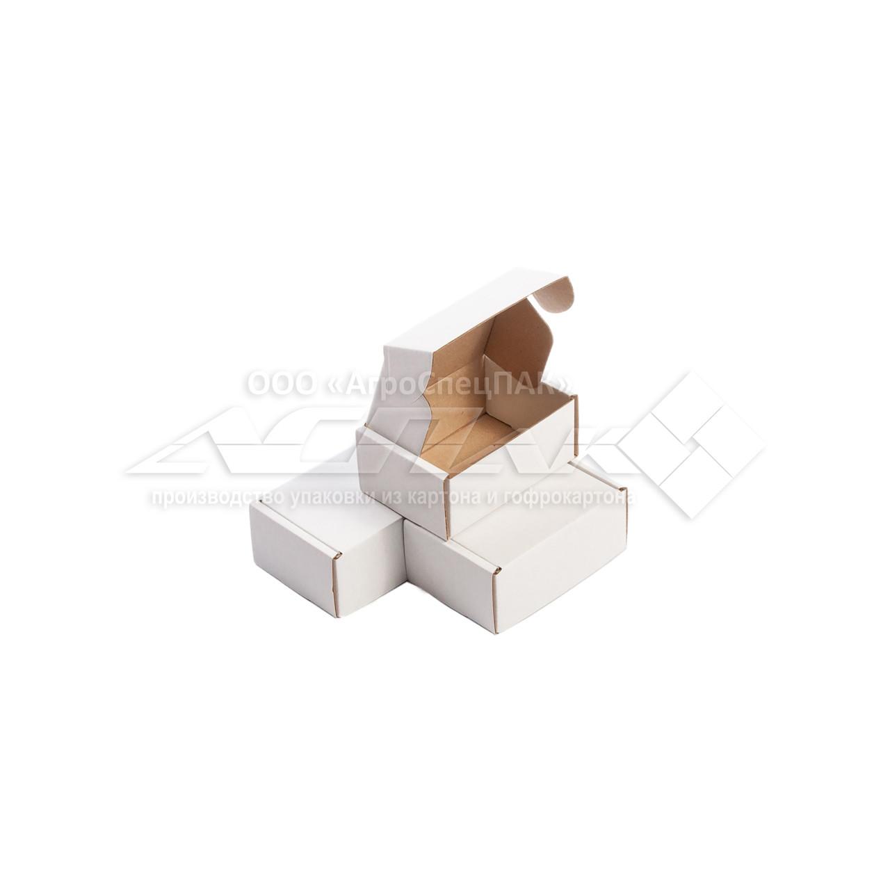 Картонные коробки 90х65х40 белые