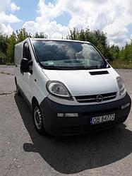 Поступило авто на разборку. Opel vivaro 2002 года, 1.9