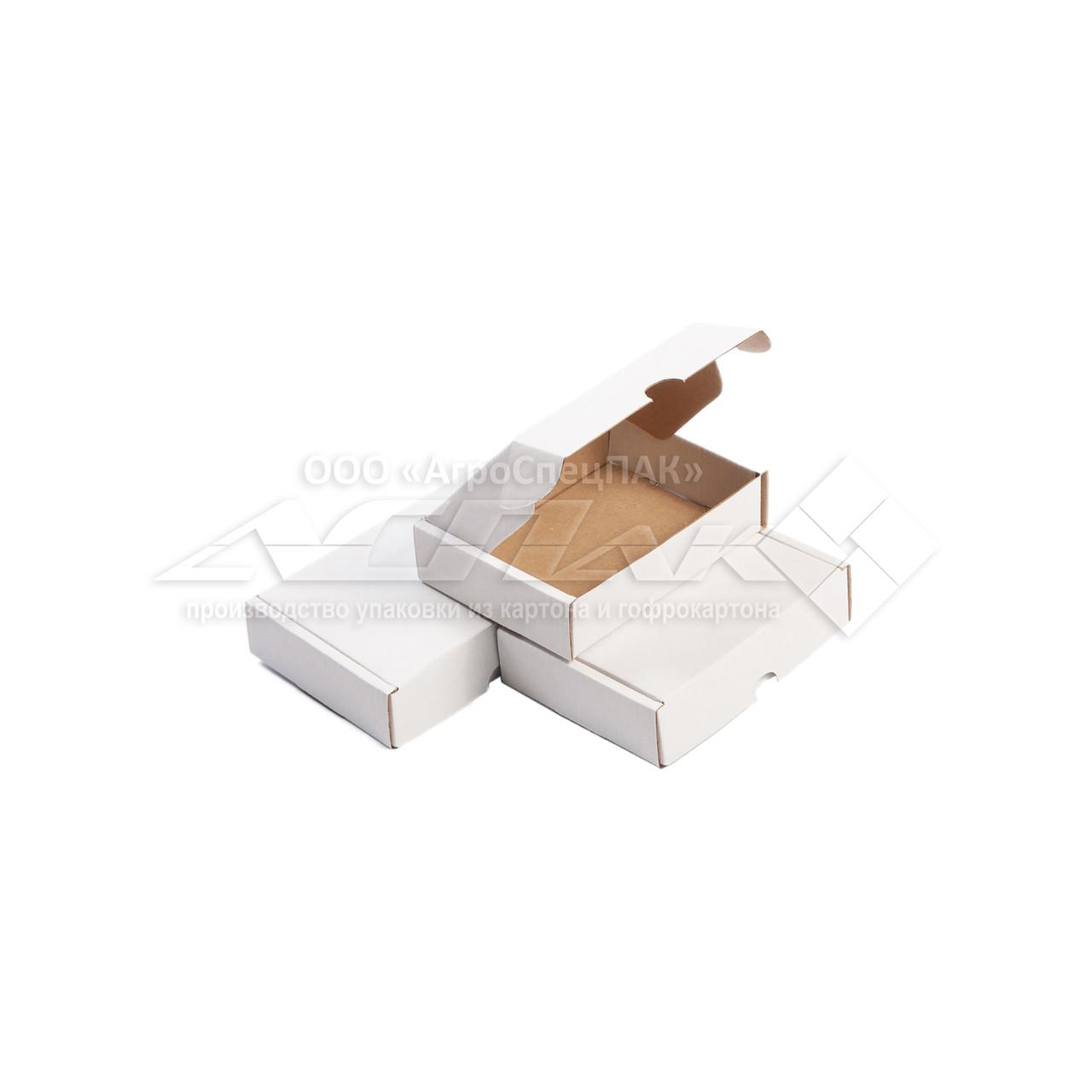 Картонные коробки самосборные 120х90х30 белые