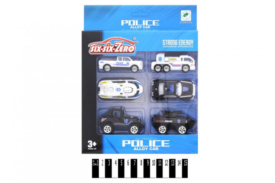 Набор машинок Police 660-А126, полицейские машинки
