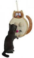 Когтеточка Trixie плоская Cat 36*50см с мышками (43118)