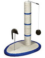 Когтеточка Trixie-столбик с мышкой 50см (4306)
