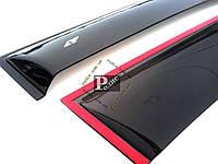 "Дефлекторы окон Citroen Berlingo II 3d 2009/Peugeot Partner II 3d 2009 Cobra Tuning  - Ветровики ""CT"" Ситроен Берлинго 2 3д/Пежо Партнер 2"