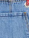 Джинсовый комбез ZARA 10лет маломерит (на рост 128см), фото 4