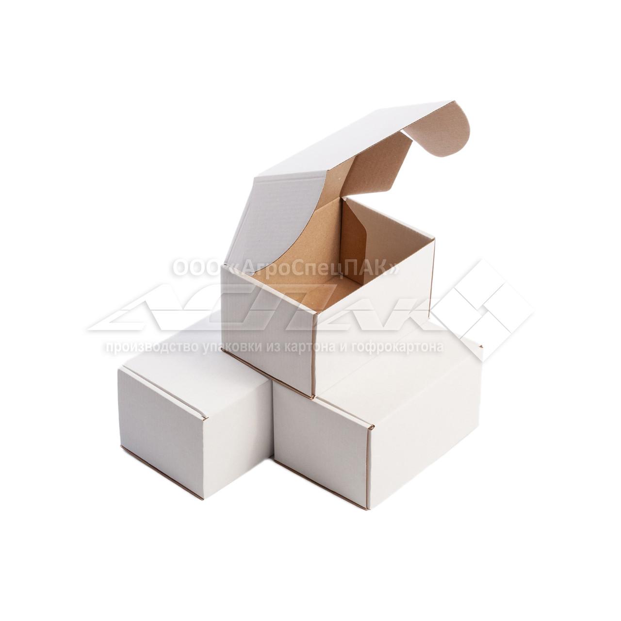 Картонные коробки 155*110*90 белые