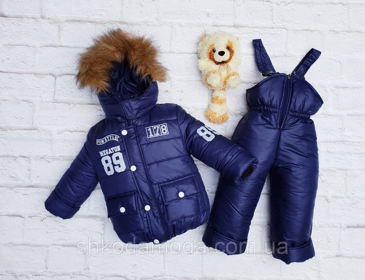 "Детский зимний комбинезон+куртка ""МегаТон"""