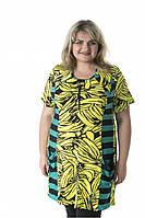 """Туника женская """"Банан"""" больших размеров (733Б) , фото 1"""