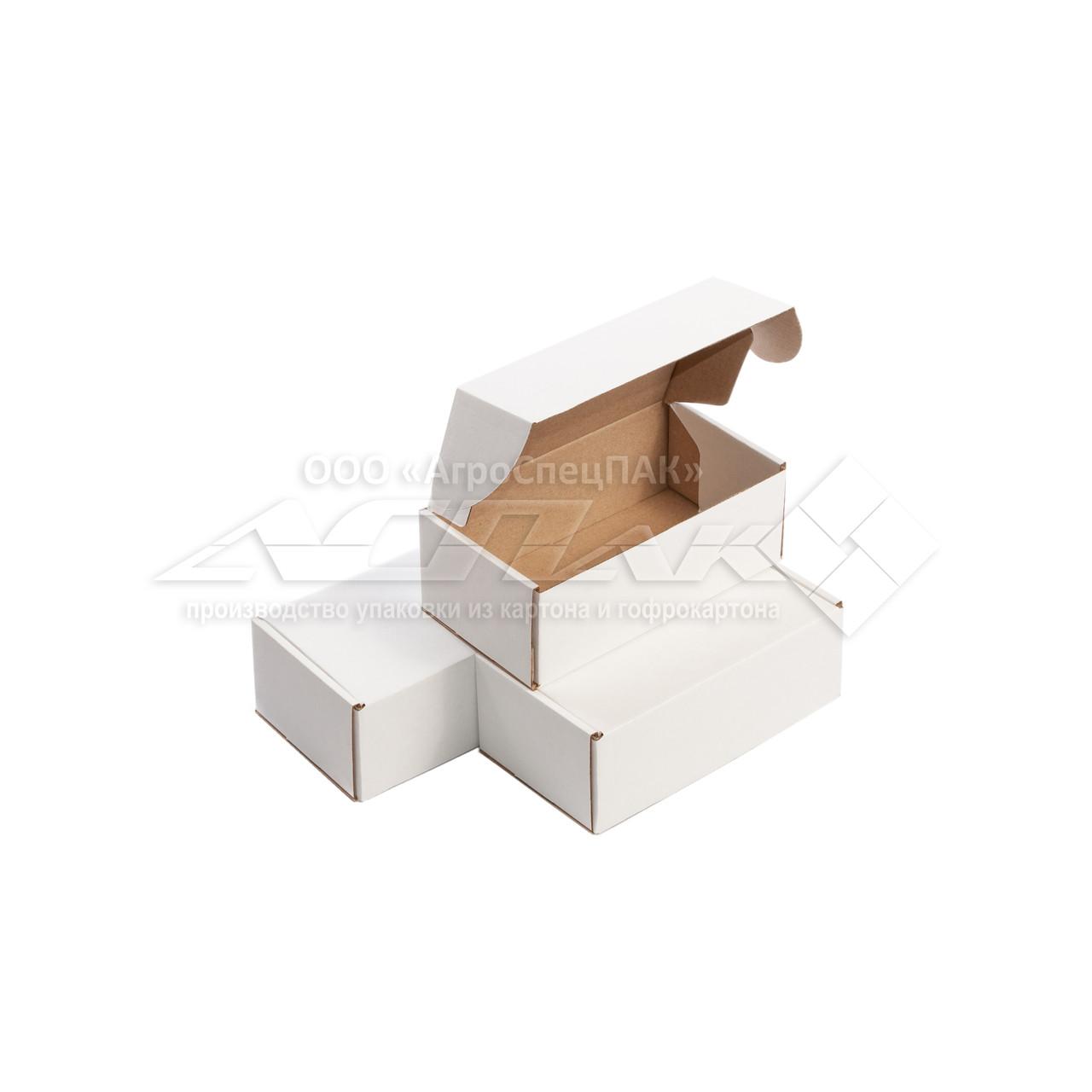 Картонные коробки 180*100*65 белые