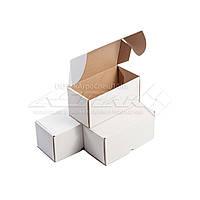 Картонная коробка 200х100х100 белая, фото 1