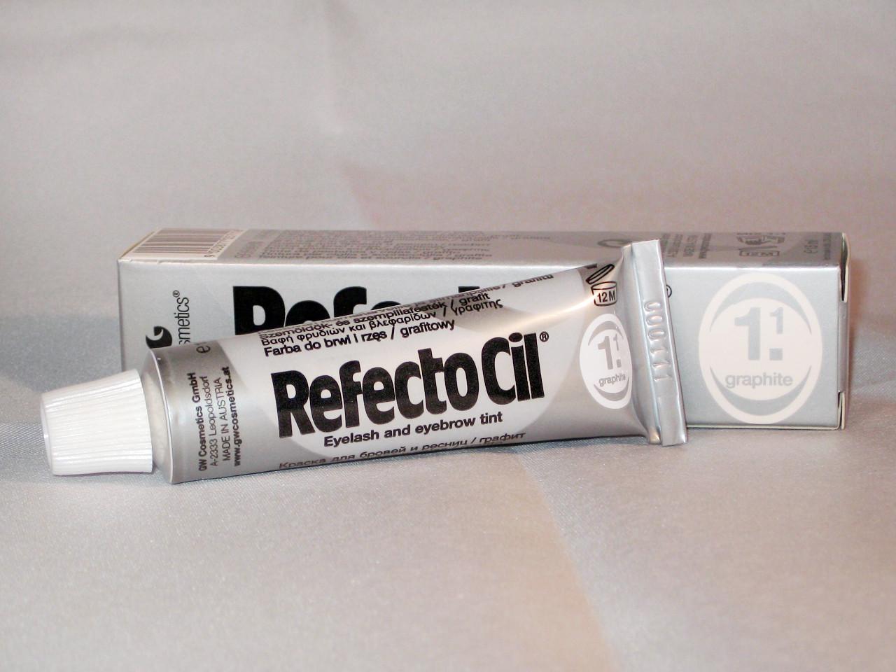 RefectoCil №1.1. Краска для бровей и ресниц, графит.