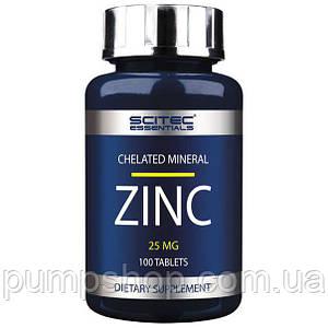 Цинк Scitec Nutrition Zinc 25 мг 100 капс.
