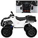 Детский полноприводный электромобиль-квадроцикл белый M3564EL деткам 3-8 лет мотор 4*45W, фото 3