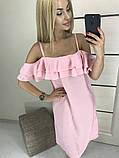 Платье летнее 42-46р цвета в ассортименте, фото 6