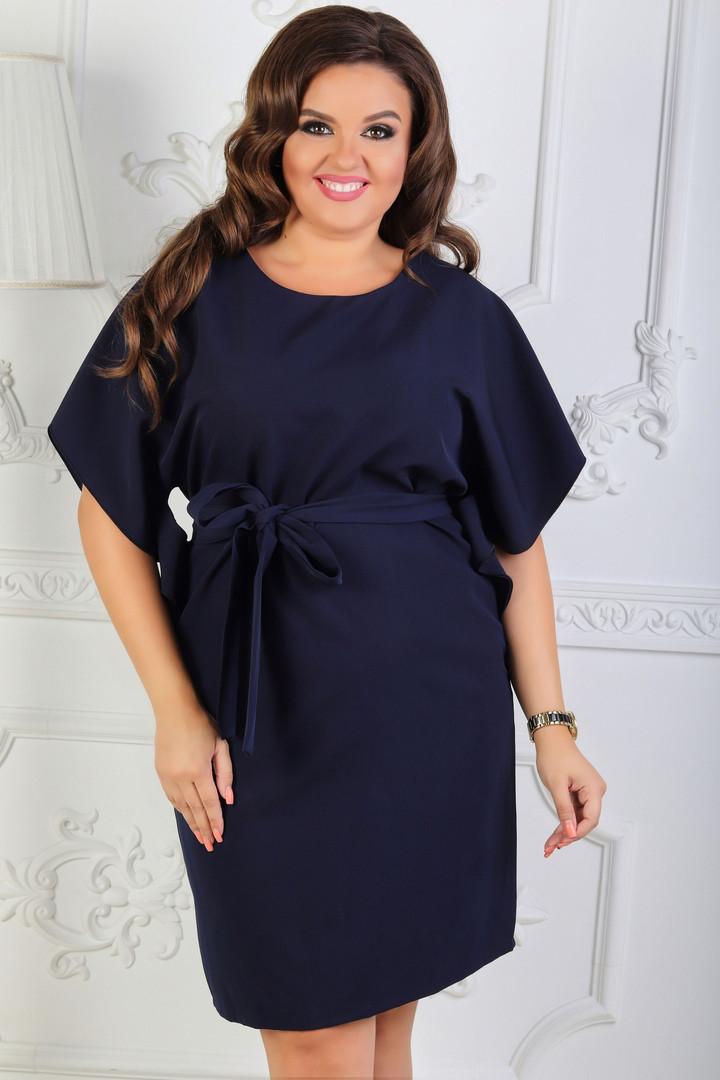 Платье летнее батал 50-54р цвета в ассортименте