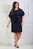 Платье летнее батал 50-54р цвета в ассортименте, фото 2