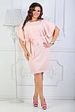 Платье летнее батал 50-54р цвета в ассортименте, фото 5
