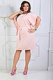 Платье летнее батал 50-54р цвета в ассортименте, фото 6