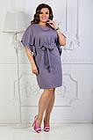 Платье летнее батал 50-54р цвета в ассортименте, фото 8