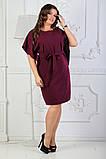 Платье летнее батал 50-54р цвета в ассортименте, фото 9