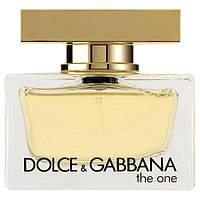 Dolce&Gabbana The One (Дольче Габбана Зе Ван), женская парфюмированная вода, 75 ml