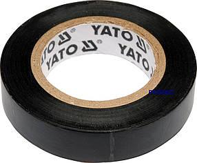 Изолента 12ммх10м черная Yato YT-8152