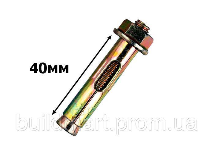Анкерний болт з гайкою 8х40 мм