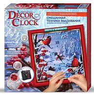 """Набор для творчества """"Decor Clock"""" """"Снегири"""""""