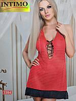 Кружевной пеньюар Intimo 3384 Красный