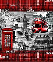"""Пакет с петлевой ручкой """"Лондон"""" 40х43"""