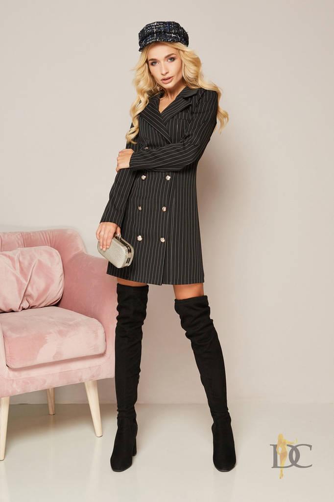 Обворожительное мини-платье с длинными рукавами
