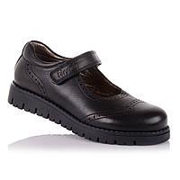 Школьные туфли для девочки Tirenti 15.5.19 черные 54049dc1530a1