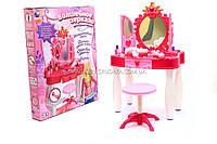 Туалетный столик для девочки «Маленькая кокетка» (свет, музыка, волшебный пульт) 661-20