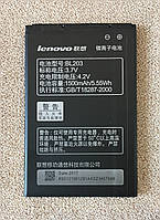Оригинальная батарея Lenovo A208/A308 (BL203)