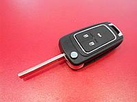 Заготовка выкидного ключа CHEVROLET CRUZE 3 кнопки, 283#