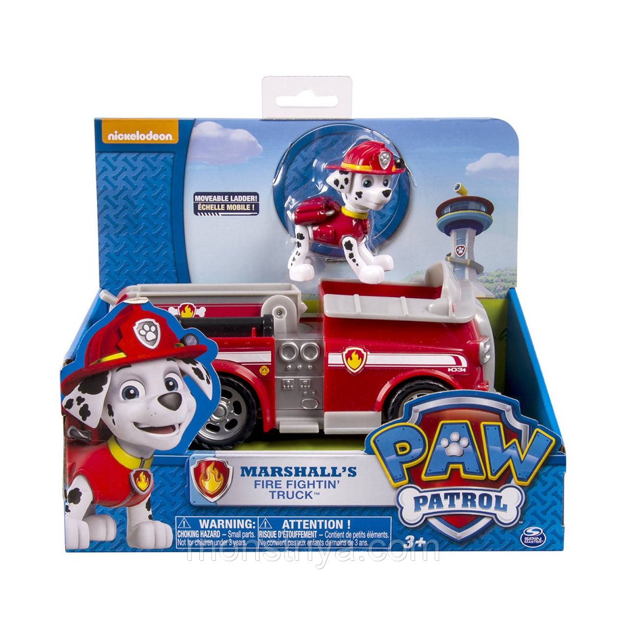 Пожарная машина и щенок Маршал  Щенячий патруль PAW PATROL
