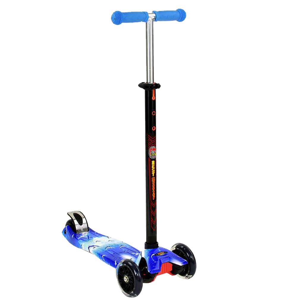 Самокат Best Scooter А 24658 Голубой Maxi 62847