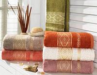 Бамбуковые  полотенца махровые  Arya Kayra 70х140