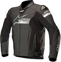 Мотокуртка Alpinestars Fuji перф. кожа черный, 52