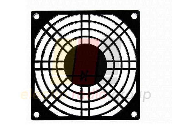 Решетка для вентилятора, 92мм plast