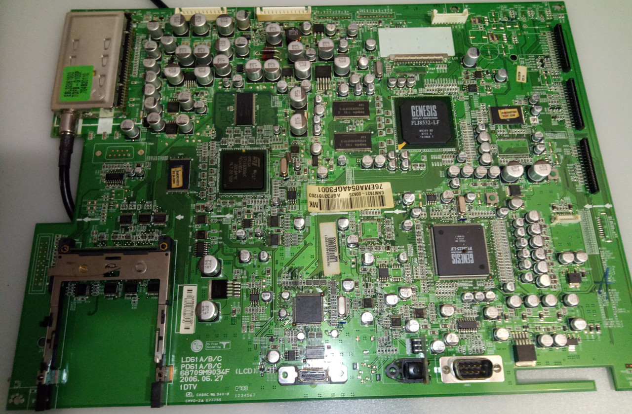 Материнская плата 68709M9034F для телевизора LG 37LC2D-SC