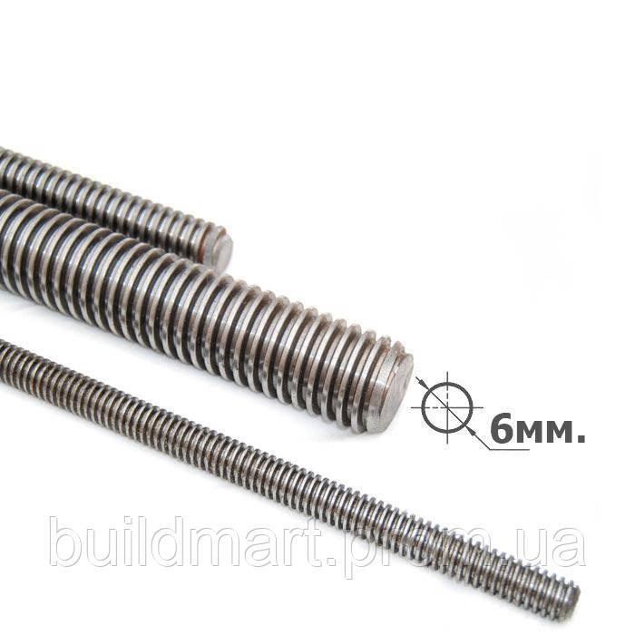 Шпилька резьбовая М6х1000 мм.