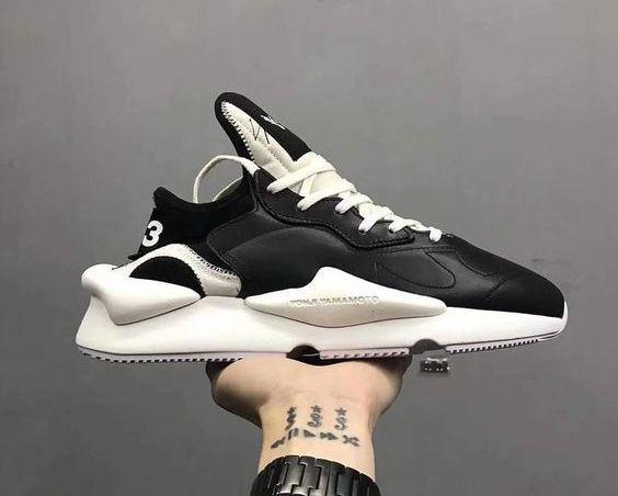 new york 82428 fbe52 Кроссовки женские Adidas Y-3 Kaiwa Chunky Sneakers Yohji Yamamoto Black  BC0908