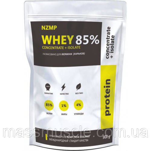 Протеин NZMP(New Zealand) Whey Concentrate + Isolate 85% 900 g