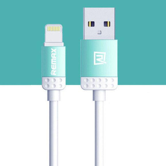 USB кабель Remax Lovely RC-010i Lightning, 1m blue