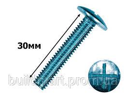 Винт мебельный 8х30 мм. (100шт.)