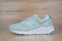 Женские кроссовки New Balance 999 original Светло-зеленые