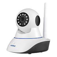 WiFi камера поворотная KERUI для видеонаблюдения, видеоняня, фото 1