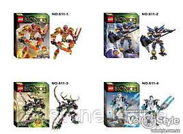 Конструктор KZC Bionicle 611-1/4 (LEGO Bionicle) 4 вида