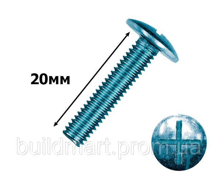 Гвинт меблевий 6х20 мм. (200шт.)